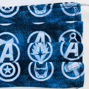Sustainable COVID-19 Face Extendable Face Masks (Avengers)