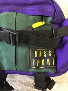 Bass Sport Purple and Green Fanny Pack - Closet Freekz