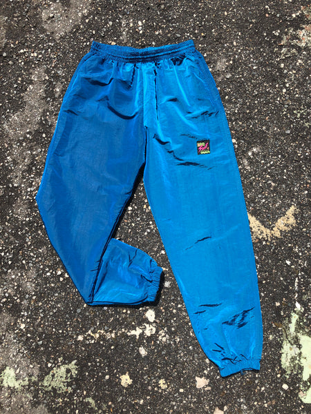 Surf Style Blue Track Pants