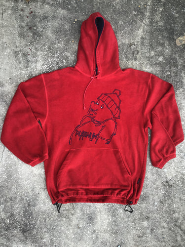 Karachi Red Platinum Hoodie - Closet Freekz