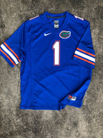 Nike Florida Gators Blue Football Jersey