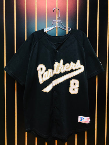 Panthers #8 Baseball Jersey