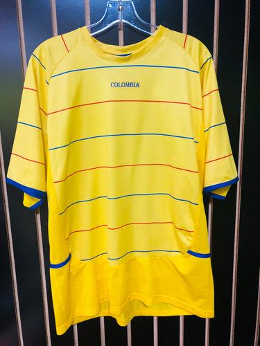 Mandial Yellow Colombia Jersey Top