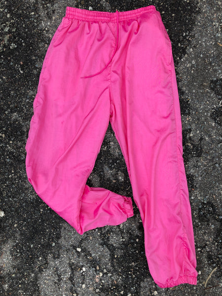 Michael Pink Windbreaker Athletic Pants