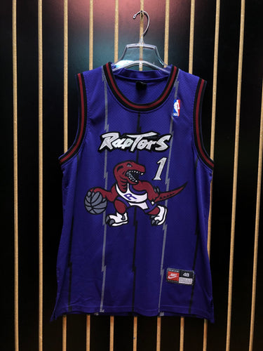 Nike Raptors #1 Basketball Jersey