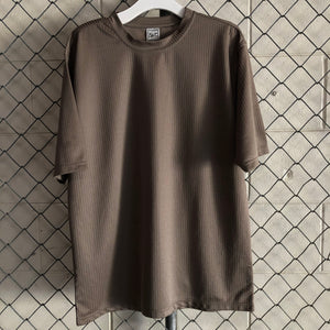Elliott Brown Ribbed Retro Top - Closet Freekz