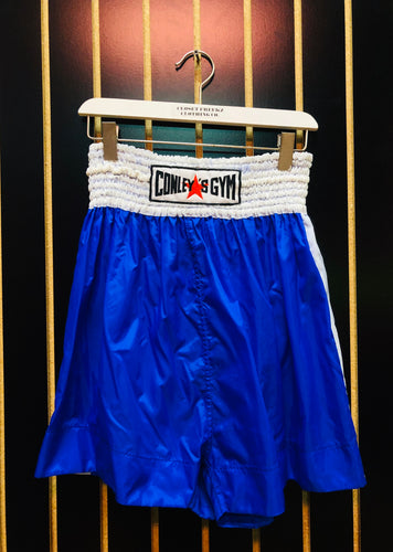 Conley's Gym Blue Boxing Shorts