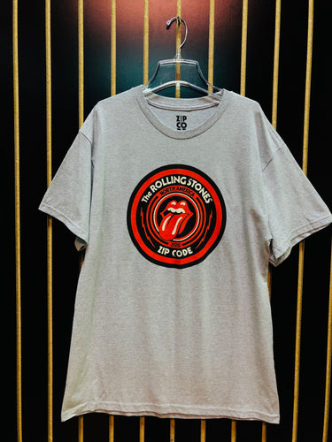 The Rolling Stones Gray Tour T-Shirt