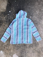 Earth Ragz Blue and Grey Knit Pullover