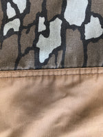 Conceal Camo Denim Pants with Tan Paneling