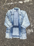 Acid Washed Pressed Denim Jacket