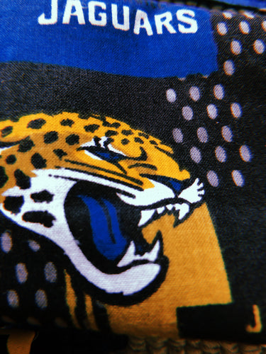 Sustainable COVID-19 Face Extendable Face Masks (Jaguars Logo Head)