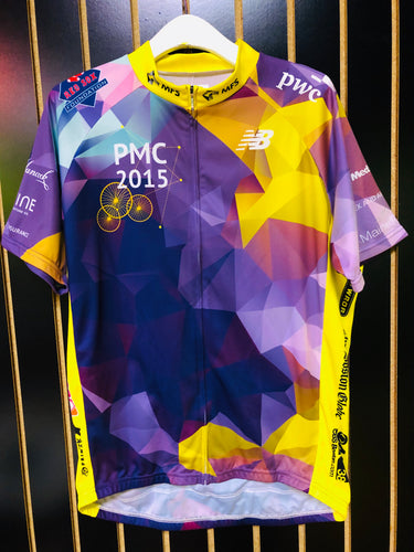 New Balance Purple PMC Cycling Jersey