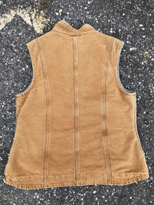 Carhartt Tan Vest with Fur Lining - Closet Freekz