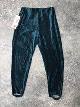 Klee Green Velvet Retro Riding Pants - Closet Freekz