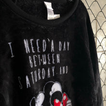Disney Black Mickey and Mini Plush Sweater - Closet Freekz