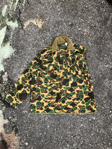 Saftback Camo Button Surplus Jacket - Closet Freekz