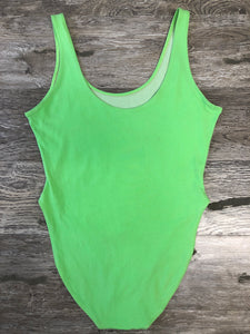 Lime Green Bodysuit - Closet Freekz