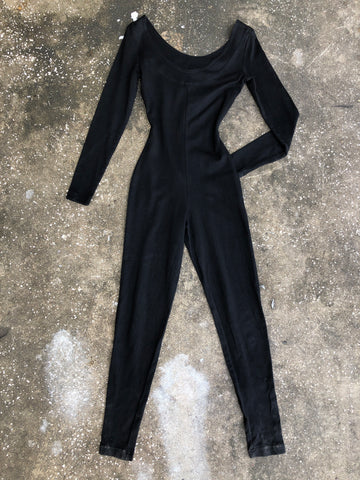 Contempo Casuals Black Off the Shoulder Jumpsuit