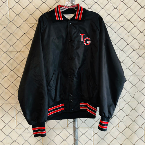 Holloway Black and Red TG Bomber - Closet Freekz