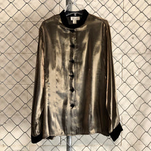 Camille Claudel Shimmer Button Up - Closet Freekz