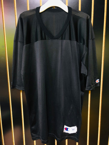 Black Champion Mesh Oversized Jersey