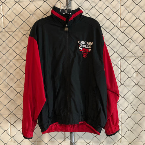 First Pick Black and Red Chicago Bulls Bomber - Closet Freekz