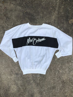 AS IS - Vol.Loc White New Orleans Crewneck