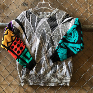 City Streets Vintage Custom Ugly Sweater - Closet Freekz