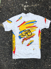 South Broward White Speckled Cycling Shirt - Closet Freekz