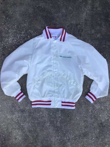 King Louie White Home Federal Savings Bomber Jacket - Closet Freekz