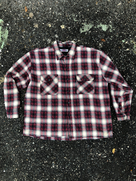 As Is - Buffer Zone Red Plaid Outerwear Jacket