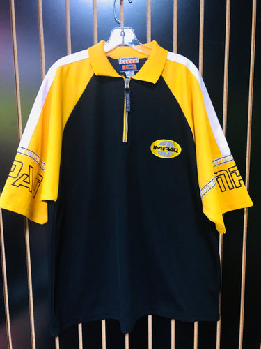 Impaq Sports 90's Yellow and Black Jersey Top