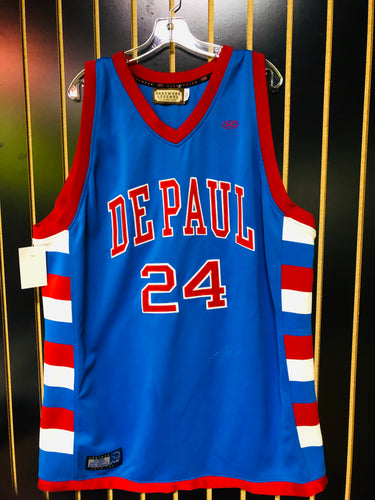 Harwood Legends Mark Aguirre Retro Basketball Jersey