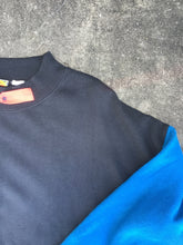 Generation One Retro Black and Blue Crewneck with Front Pocket - Closet Freekz