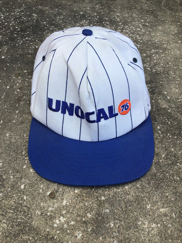 Stylemaster White and Blue Unocal 76 Baseball Cap - Closet Freekz