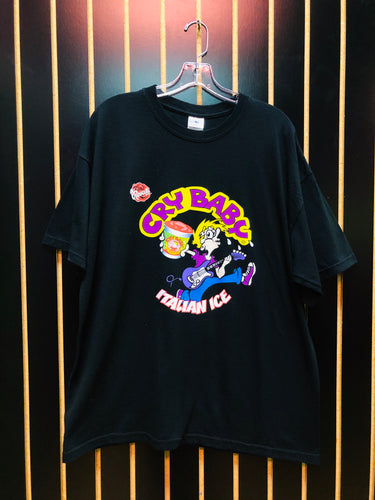 Cry Baby Black Graphic T-Shirt