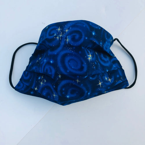 Sustainable COVID-19 Face Extendable Face Masks (Starry Nights)