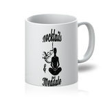 Mocktails&meditate 11oz Mug