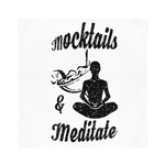 Mocktails&meditate Sublimation Bandana