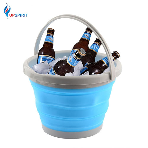 Foldable Silicone Retractable Ice Cooler