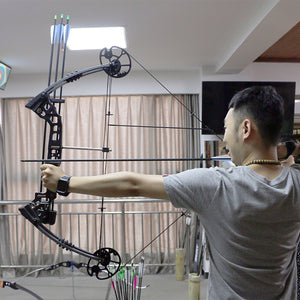 20-70lbs with continuous adjustment fishing hunting compound bow