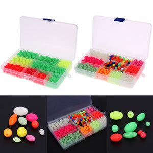 1000pcs Fishing Beads With Box