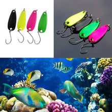 4pcs/Set  Metal Spoon Lure