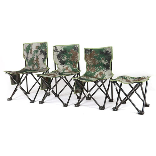 Ultralight Foldable Camouflage Fishing chair
