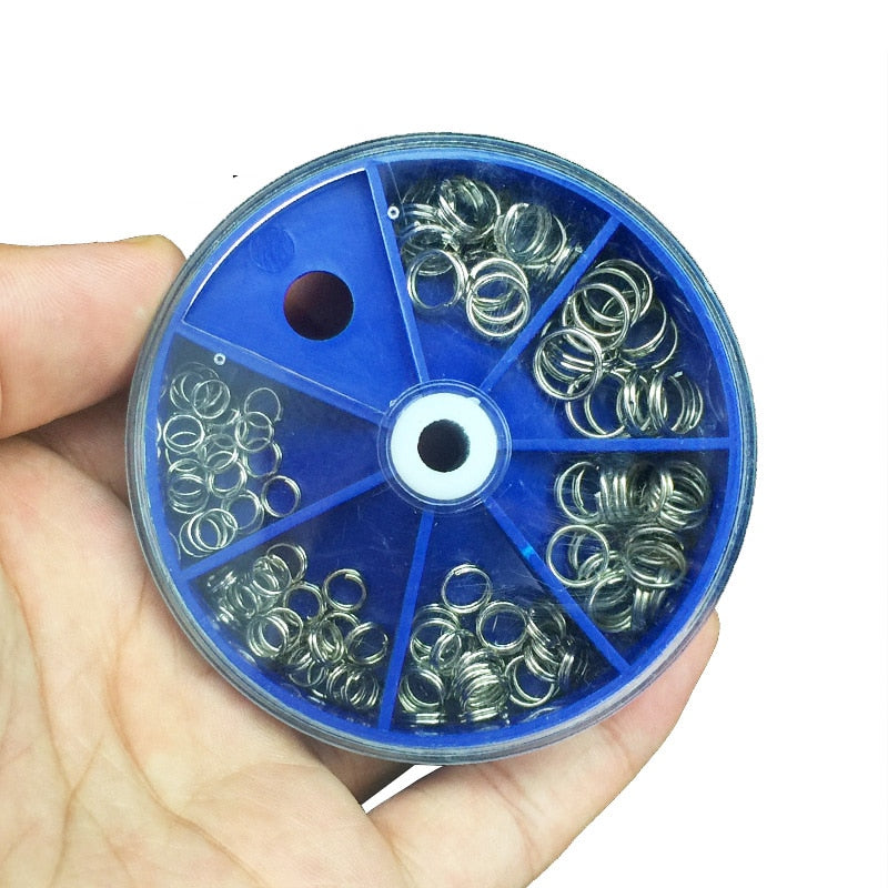 116Pcs/Stainless Steel Fishing Connector