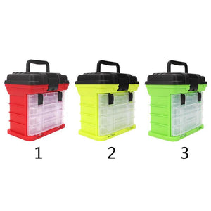 4 Layer Portable Fishing Tackle Boxes
