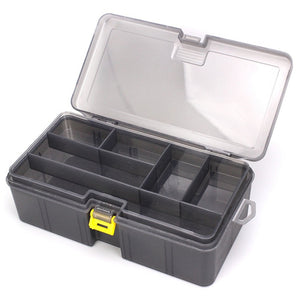 Thick double-layer lure accessories tool box
