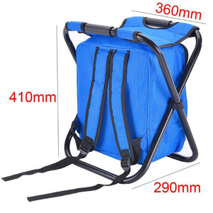 Folding Portable Fishing With Backpack