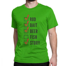 Fishing Checklist T Shirts
